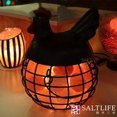 【鹽夢工場】創意造型鹽燈-金雞下蛋