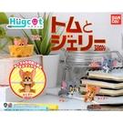 全套5款【日本正版】湯姆貓與傑利鼠 充電線公仔 扭蛋 轉蛋 保護套 咬線器 Tom and Jerry - 547037