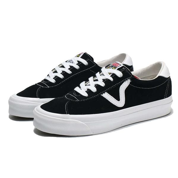 VANS 休閒鞋 板鞋 VAULT OG EPOCH LX 黑白 麂皮 經典款 男女 (布魯克林) VN0A4U12AD3