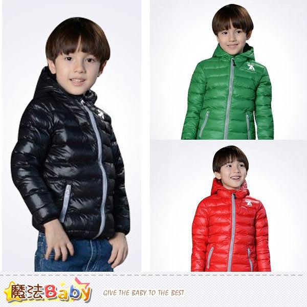 兒童輕量極保暖羽絨外套(黑.綠.紅) 魔法Baby