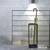燭臺鐵藝簡約現代家用落地雨傘架酒店放置雨傘架 QW5658『夢幻家居』