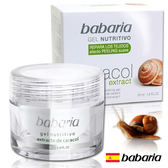 西班牙Babaria高含量20%活膚原液蝸牛凝霜50ml【1838歐洲保養】