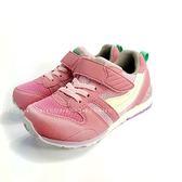日本月星MOONSTAR 魔鬼氈機能學步鞋 《7+1童鞋》B448粉色