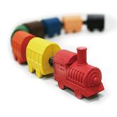 【允拓】小火車蠟筆橡擦組 經典款