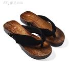 木屐鞋新款燒桐男女日式木屐cosplay木拖鞋日本木屐鞋木板人字拖鞋 快速出貨