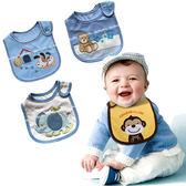 口水巾 Baby Bibs 三層防水圍兜兜 雙面棉質圍兜 CA11539