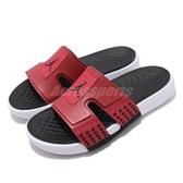 Nike 涼拖鞋 Jordan Hydro 8 紅 黑 男鞋 運動拖鞋 喬丹 【PUMP306】 CD2803-601