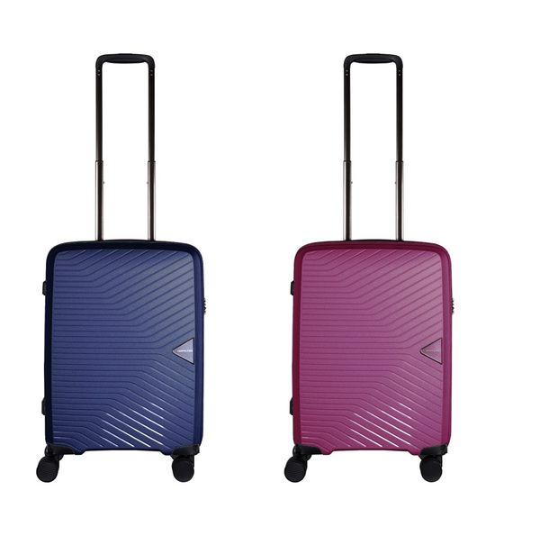 HAPI+TAS 超輕量 PP材質 防水拉鍊箱 19.5吋 2.2公斤 行李箱 旅行箱 登機箱 HAP2082 CROWN 皇冠