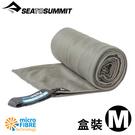 【Sea To Summit澳洲 口袋型抗 菌快乾毛巾 M《盒裝/灰》】STSAABPOCT/吸水毛巾/速乾毛巾