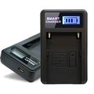 YHO 單槽 液晶顯示充電器(Micro輸入) for SONY NP-F330,F550,F570,F730,F750,F770,F960,F970