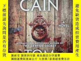 二手書博民逛書店The罕見Marks of Cain: A Novel 該隱的記