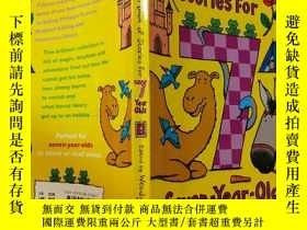二手書博民逛書店Stories罕見for Seven-Year-Olds:七歲孩子的故事Y200392