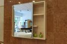 【麗室衛浴】PVC鏡櫃 鏡面可左右推開 鏡櫃  LS-1609  尺寸:65X15X60cm