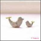 (限量)親子小鳥微景觀擺飾 桌面裝飾 景觀盆栽zakka 水族用品 攝影道具 花園擺件 陽臺裝飾擺設