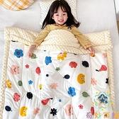 嬰兒豆豆毯午睡小被子雙層加厚冬季兒童蓋毯【奇妙商舖】