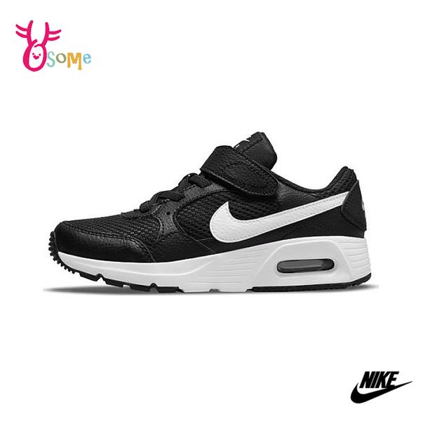 NIKE童鞋 男女童運動鞋 AIR MAX SC 氣墊 慢跑鞋 避震 耐磨 跑步鞋 氣墊運動鞋 大童 Q7153#黑色