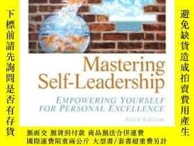 二手書博民逛書店Mastering罕見Self Leadership: Empo