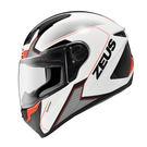 [中壢安信]ZEUS 瑞獅 ZS-811 ZS811 AL6 白黑紅 全罩 安全帽