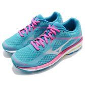 美津濃 Mizuno Wave Unitus 3 藍 水藍 粉紅 白底 運動鞋 慢跑 跑鞋 女鞋【PUMP306】 J1GD1721-03