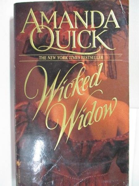 【書寶二手書T1/原文小說_BL5】Wicked Widow_Amanda Quick