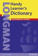 二手書博民逛書店 《Longman Handy Learner s Dictionary》 R2Y ISBN:058236471X│Longman