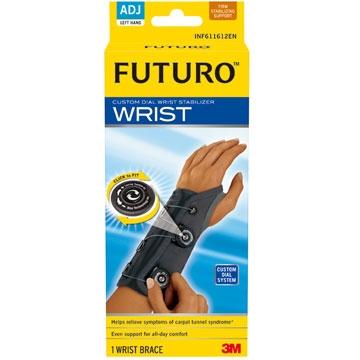 3M FUTURO 旋鈕式特級穩定型護 腕(左手) 專品藥局【2011809】