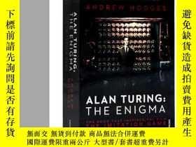 二手書博民逛書店英文原版罕見模仿遊戲 Alan Turing The Enigma 艾倫圖靈傳 解碼者如謎的解謎者奧斯卡