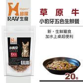 【HyperrRAW超躍】小豹牙五色生鮮餐 草原牛口味 20克