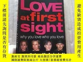二手書博民逛書店LOVE罕見at first sight 大16開【內頁幹凈】Y10893 Suzi Malin DK 出版