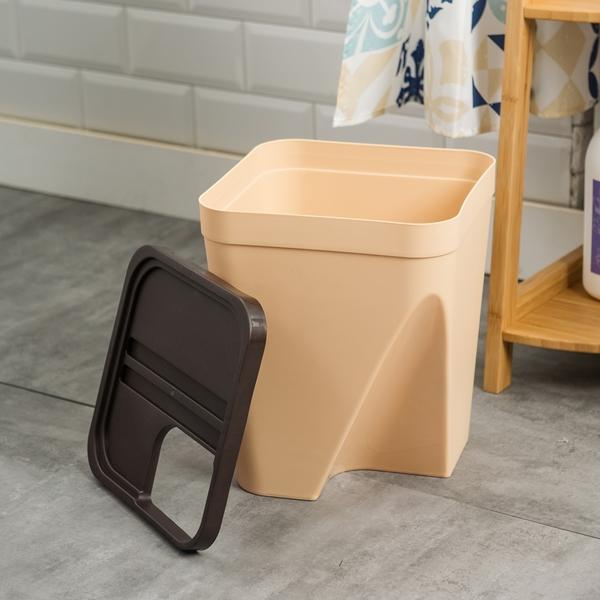 【黑五最後倒數】簡約生活多用造型收納桶-大(顏色隨機出貨)-生活工場