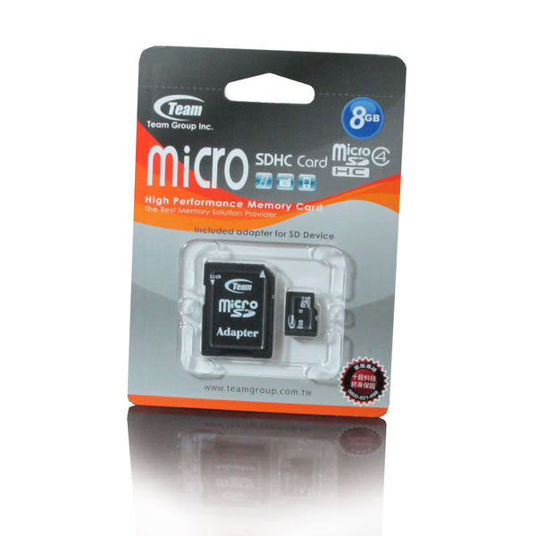 Micro SD T-Flash 8G TF 8GB SD3.0 記憶卡 內附SD轉卡 非 創見 Sandisk