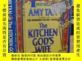 二手書博民逛書店The罕見KITCHEN GOD`S WIFE(譚恩美:竈神之妻