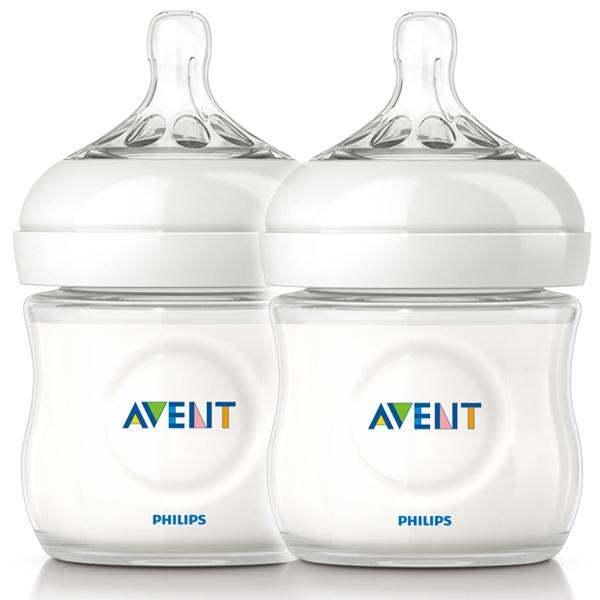 Philips Avent 新安怡 - 親乳感PP防脹氣奶瓶 125ml (2入)