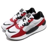 Puma 休閒鞋 RS 9.8 Space 黑 紅 男鞋 女鞋 麂皮 運動鞋 【PUMP306】 37023001