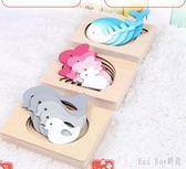 兒童早教益智玩具3d立體拼圖2-3-6周歲女孩寶寶智力木質男孩 QG11351『Bad boy時尚』
