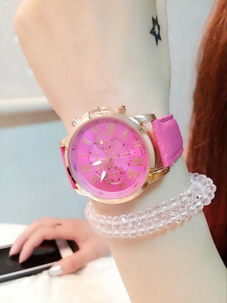 【原創館】超粉嫩夜光 手錶