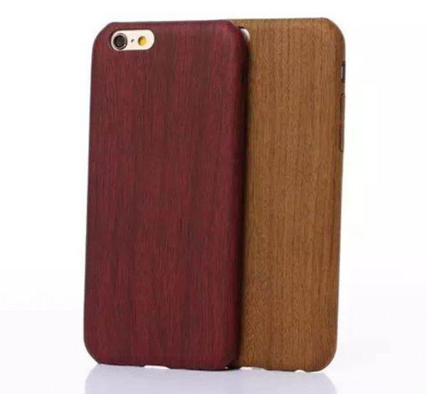 iphone 6s 7 plus 創意 木紋殼 手機殼 保護套 超薄 TPU