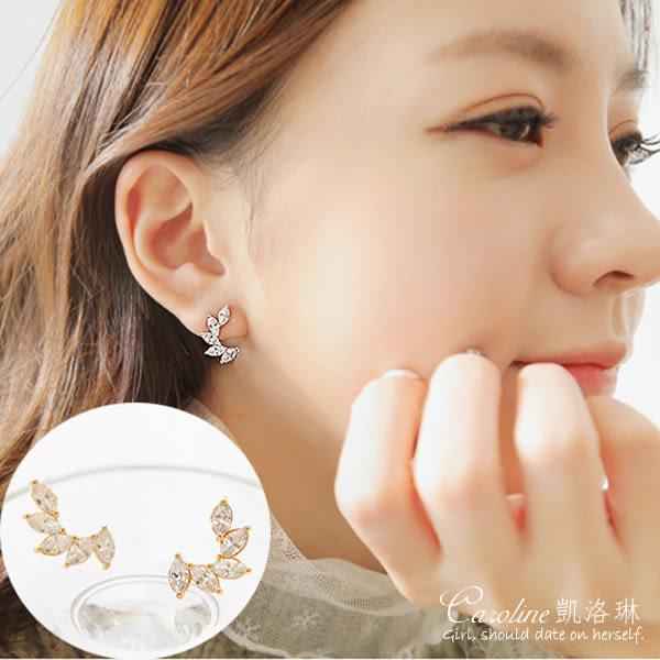 《Caroline》★【心願】甜美魅力、高雅大方設計配飾時尚耳環68402