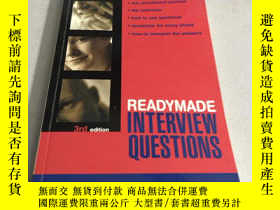 二手書博民逛書店Readymade罕見Interview QuestionsY2