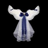 cosplay天使羽毛翅膀道具圣誕節萬圣節表演服裝舞臺演出公主背飾 - 古梵希