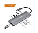 AZDOME 【日本代購】9 in 1 USB Type C 集線器4K HDMI 1000Mbps