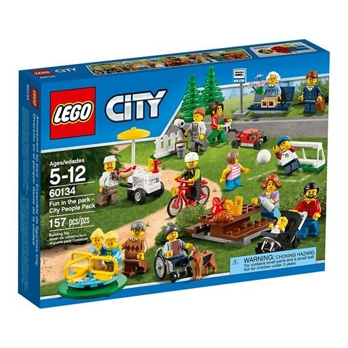 LEGO 樂高 City Town Fun in the Park - City People Pack 60134 Building Toy