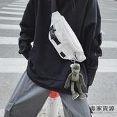 胸包男小包休閒側背斜背包日系腰包包【毒家貨源】