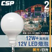 【CSP】LB1210超廣角LED燈球12V/24V(12W) /汽車照明/停車場照明/修車照明/救援照明