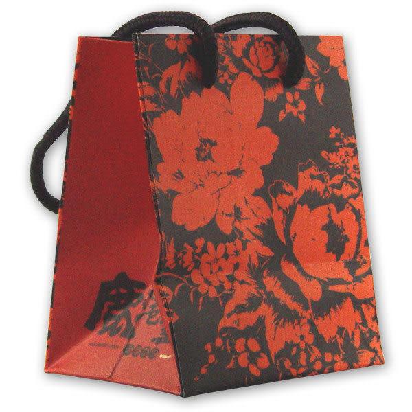 鹿港窯-1號手提袋;尺寸:11.5x9.5x14.5cm