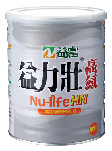 (加送58g*6包) 益富益力壯高氮800G *6 罐 *維康*