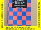 二手書博民逛書店Game罕見Theory:A Nontechnical Introduction (英文原版)Y11026 M