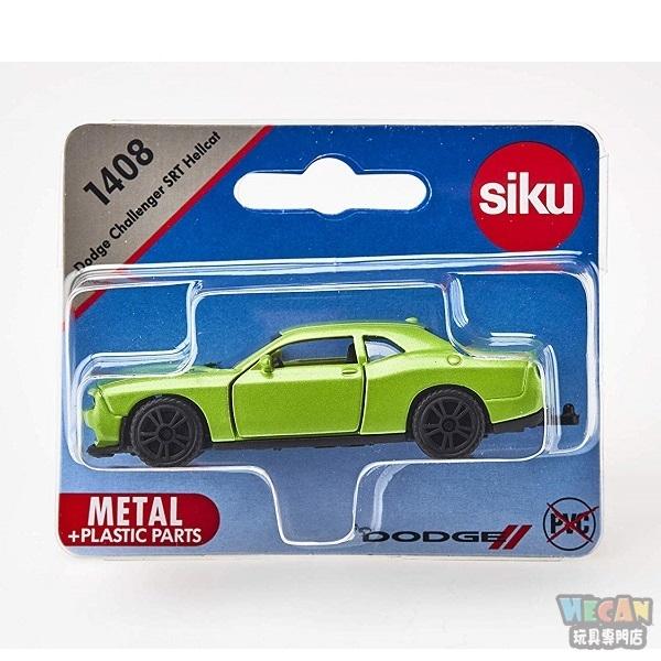 siku小汽車 SU1408 SIKU 道奇Dodge Challenger SRT Hellcat
