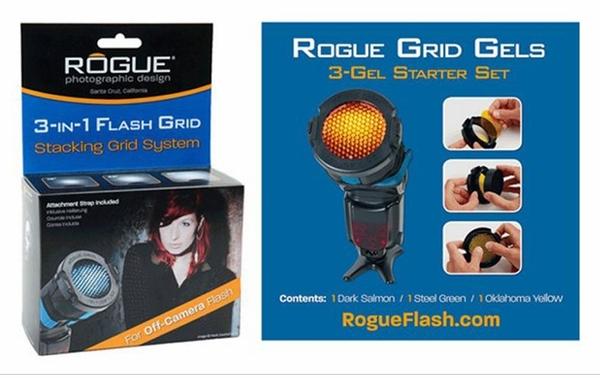 【聖影數位】美國樂客 Rogue LF-5005 蜂巢罩II 蜂巢罩 附3片濾色片 適用閃光燈