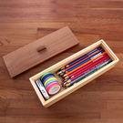 【木樂館】小物收納盒│阿拉斯加扁柏黃檜&美國側柏│筷子糖果彩色鉛筆工具辦公收納